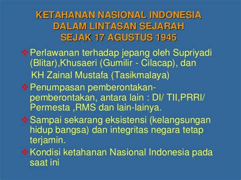 Falsafah Militer Jawa 7ketahanan nasional