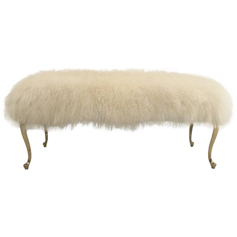 mongolian lamb bench mongolian lamb bench 28 images moviestar glam mongolian lamb and lucite bench for