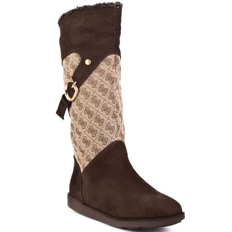 guess s brown wiggle brown multi fabric for 113 99
