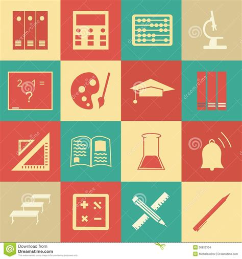 Pattern Education Abstract | vector seamless pattern with education icons abstract