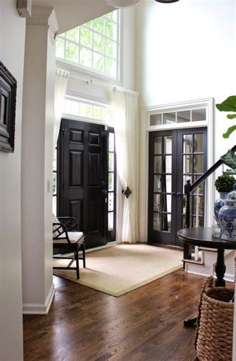 black and white home interior best 25 black interior doors ideas on black