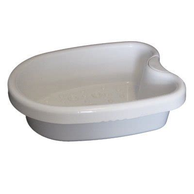 Ionic Detox Foot Bath White Orange by White Foot Basin