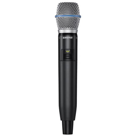 Mic Wireless Shure Ugx 32 Mic Handle 1 shure glxd24r b87a wireless handheld microphone system zzounds