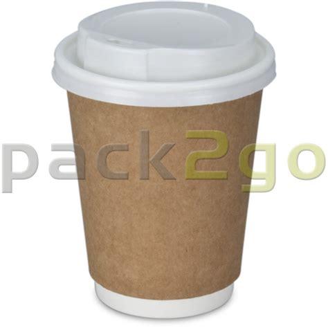 To Go doppelwand kaffeebecher pappe coffee to go becher braun