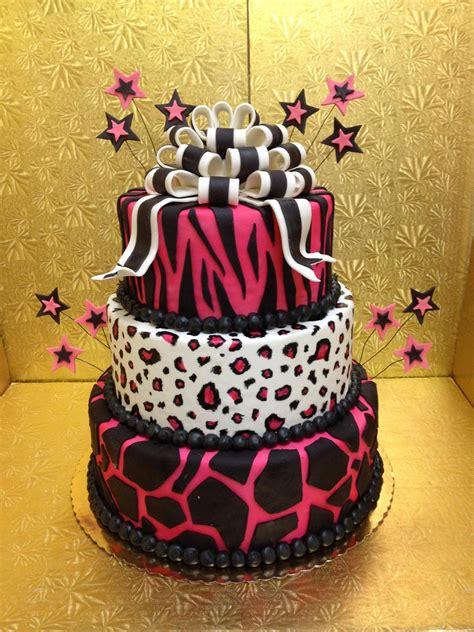 leopard birthday cake leopard print cakes decoration ideas little birthday cakes