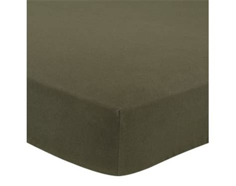 Beglance Cotton Montrose Bed Sheet montrose cotton fitted sheet olive green
