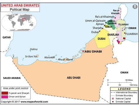 uae political map buy political map of uae