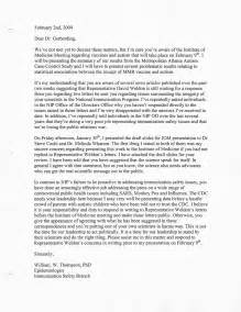 cdc whistleblower s secret letter to gerberding released