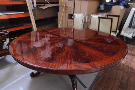 high  large  mahogany dining table antique