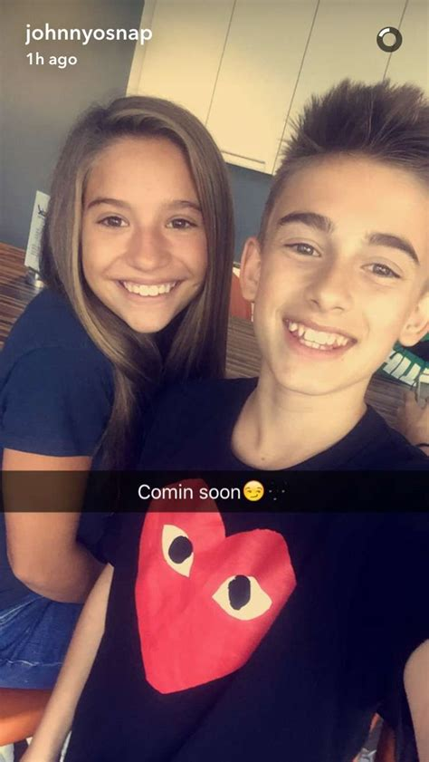 mackenzie ziegler boyfriend johnny and kenzie are making a new song together