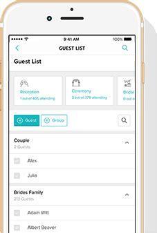 Wedding Guest List, Free Guest List Manager Tool   WeddingWire