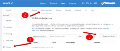 Bitcoin Address Search Where To Find Bitcoin Wallet Address In Coinbase Made For Bitcoin