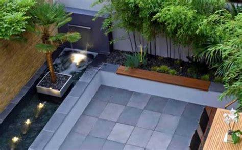 desain eksterior taman belakang desain taman belakang rumah minimalis dengan lantai