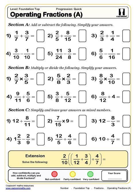 Sats Revision Homework Sheets by Ks3 Ks4 Maths Worksheets Printable Maths Worksheets