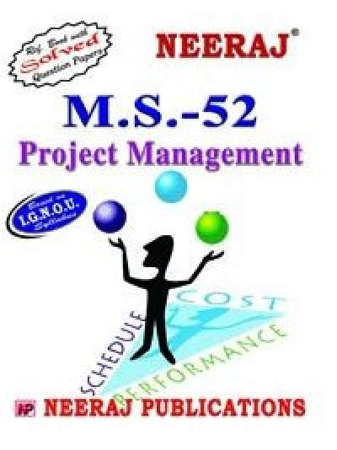 Mba 800 Assignments by Ignou Ms 52 Project Management