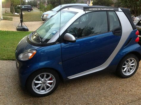 smart car 2008 2008 smart car convertible upgraded brabus suspension