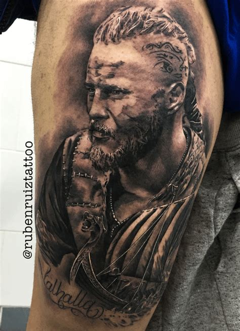 Collection Of Ragnar Temporary Tattoos Ragnar Tattoo Vikings