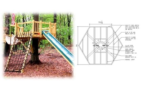 hexagon tree house plans 8 hexagon treehouse plan standard treehouse plans