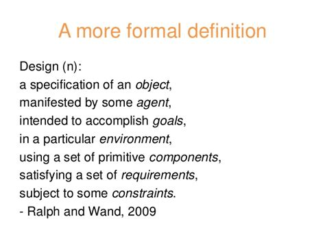 design definition science design thinking for science communication