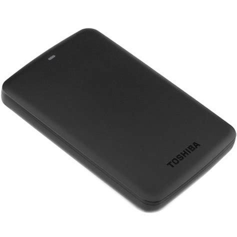 Hdd External Toshiba Canvio 500gb toshiba 500gb canvio basics 5400 rpm usb 3 0 hdtb305xk3aa b h