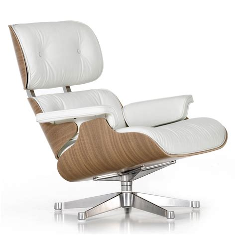 hire recliner chair white leather eames lounge chair chr012740 arenson