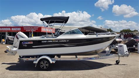 new aluminium boats for sale qld new quintrex 510 cruiseabout power boats boats online