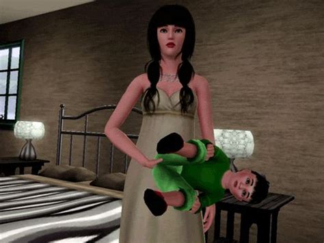 the sims 3 creepy baby really scary glitch youtube sims glitches sims and sims 3 on pinterest