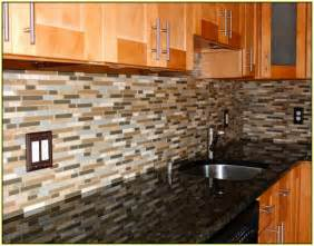 slate mosaic tile backsplash home design ideas