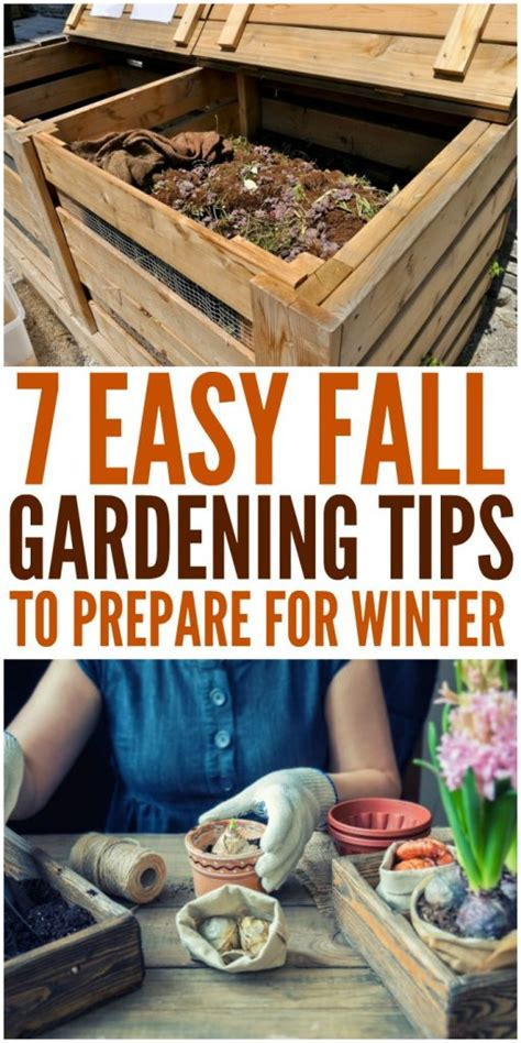 7 Tips To Prepare For A by Fall Gardening Tips How To Prepare For Winter