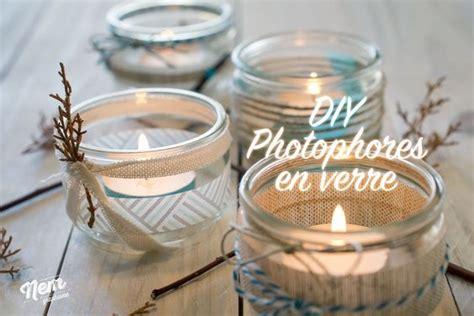 Faire Des Photophores Avec Des Pots En Verre by On Va Customiser Des Pots De Yaourts En Verre Pour Faire