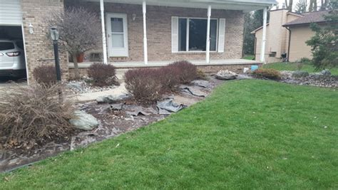 replacing mulch need design help replacing rock mulch and plants