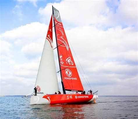 volvo race dongfeng racing yacht 65 2014 and