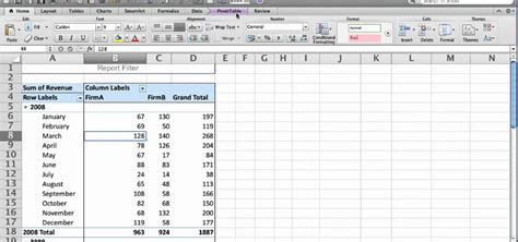 How To Use Pivot Tables In Excel 2010 by How To Use The Pivottable Report Feature In Microsoft