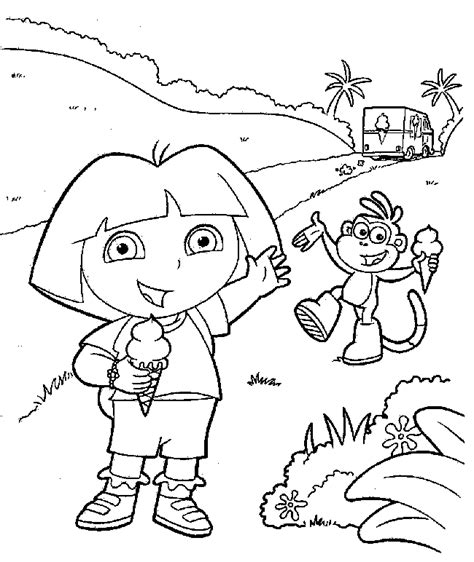 dora coloring pages nick jr nick jr dora coloring pages az coloring pages