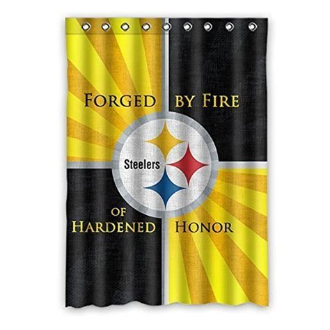 pittsburgh steelers curtains steelers drapes pittsburgh steelers drapes steeler drapes