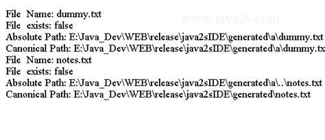 pattern java slash java io tutorial java file
