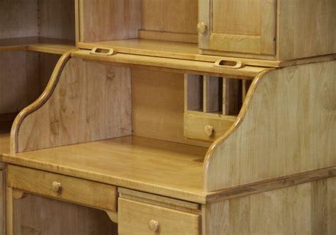 Corner Roll Top Desk Custom Maple Corner Desk Country Furniture