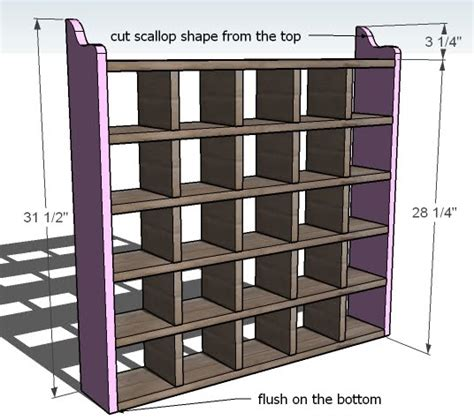 how to build a cubby bookcase build wood shelves shed designs nomis