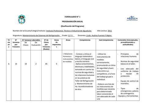 plan anual y unidades de 3 grado comunicacin jec calam 233 o plan anual trimestral i semanal i