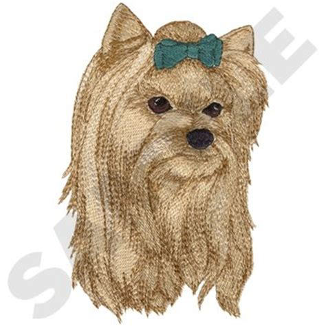 yorkie embroidery designs animals embroidery design yorkie from dakota collectibles