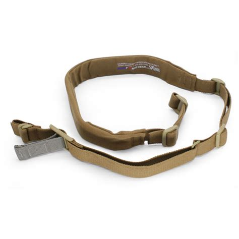 Pisau Blue Vickers Sling For Rifle Padded Acetal Hardware Black Blue Gear Vickers Combat Application Sling Padded