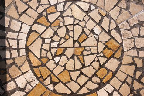 surface pattern design en español suelo mosaico suelo de mosaico romano foto de archivo
