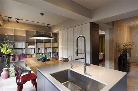 design apartment taiwan brilliant taipei apartment doubles up as a sophisticated