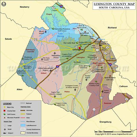 map of south carolina usa county map south carolina
