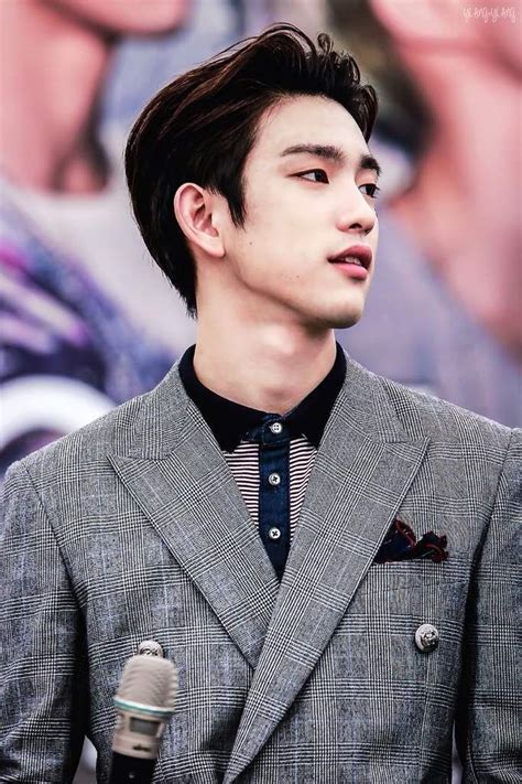 got7 jinyoung best looking member of got7 random onehallyu