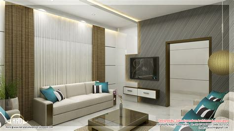 Living Room Interiors Kerala Awesome 3d Interior Renderings Kerala Home Design And