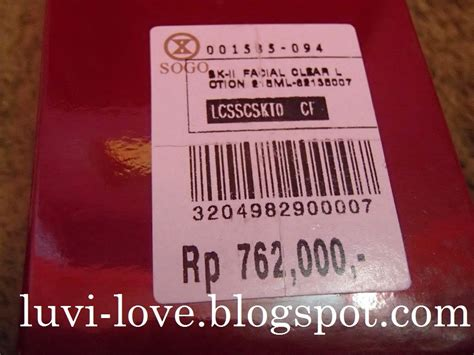Harga Clear Lotion Sk Ii luvi sk ii treatment clear lotion review