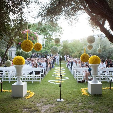 Outdoor Ceremony Decorations by Outdoor Wedding Ceremony Decor Wedding And Bridal