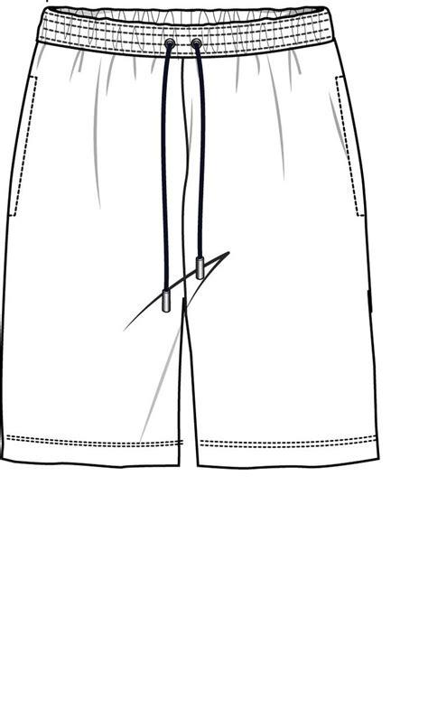 Pin Von Catlady Auf Technical Sketch Drawings Pinterest Projekte Und Sport Board Shorts Template