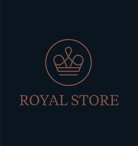 logo design luxury luxury retail royal store logo designer